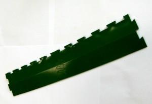 nájezdová lišta zelená
